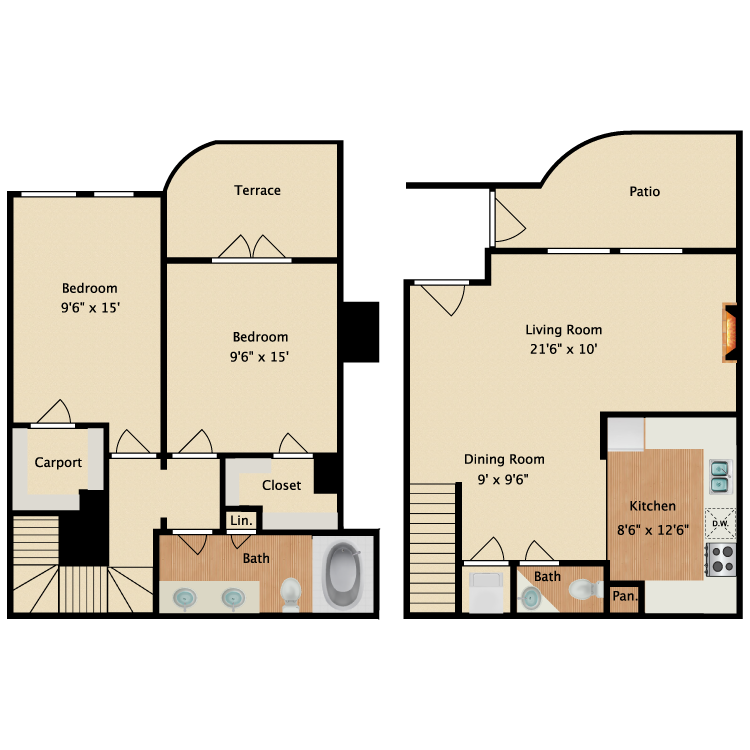 Floor plan image of Belize