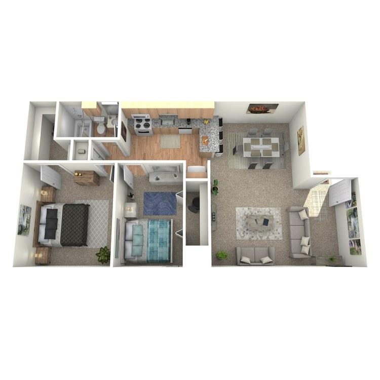 Floor plan image of Clifden - Upstairs
