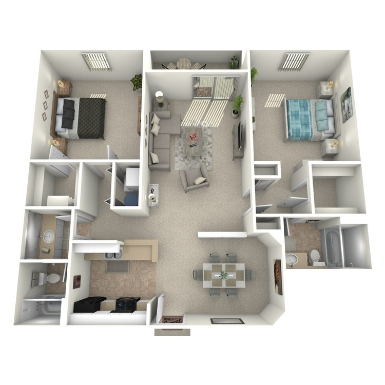 Cedar floor plan image