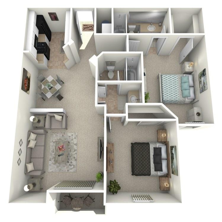 Floor plan image of Tamarack