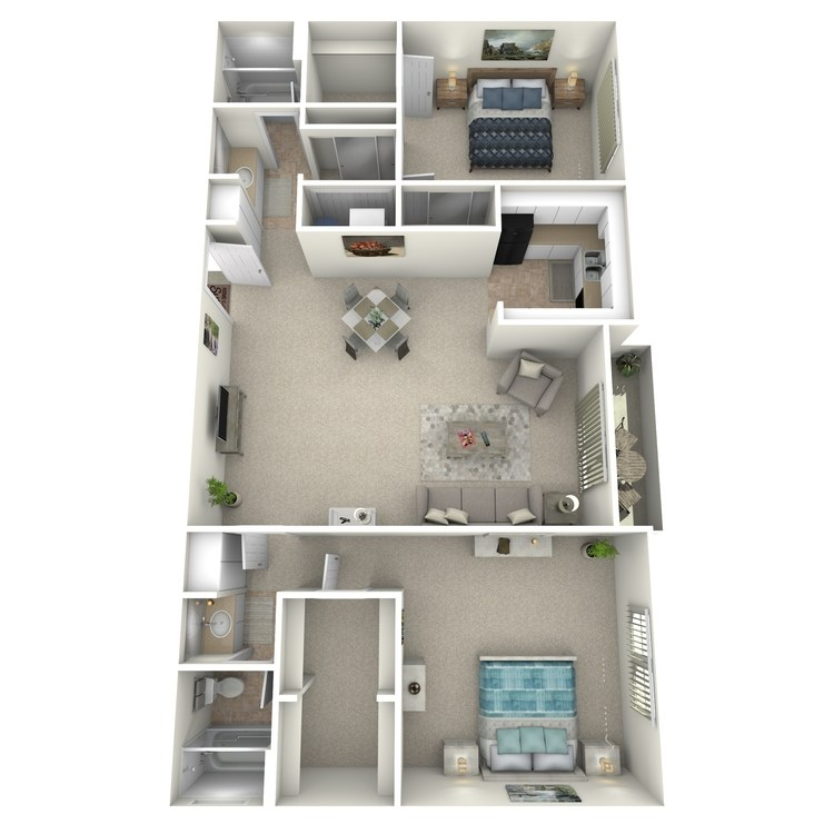 Sequoia A floor plan image