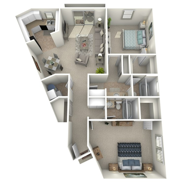 Maple floor plan image