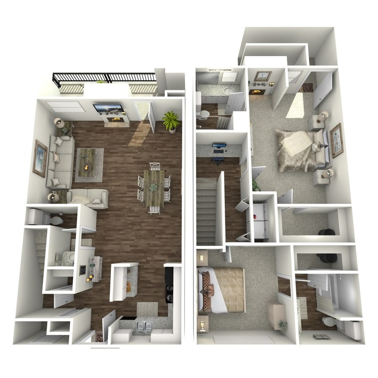 Floor plan image of B4TH