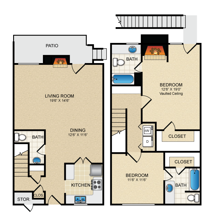 Floor plan image of B4TH