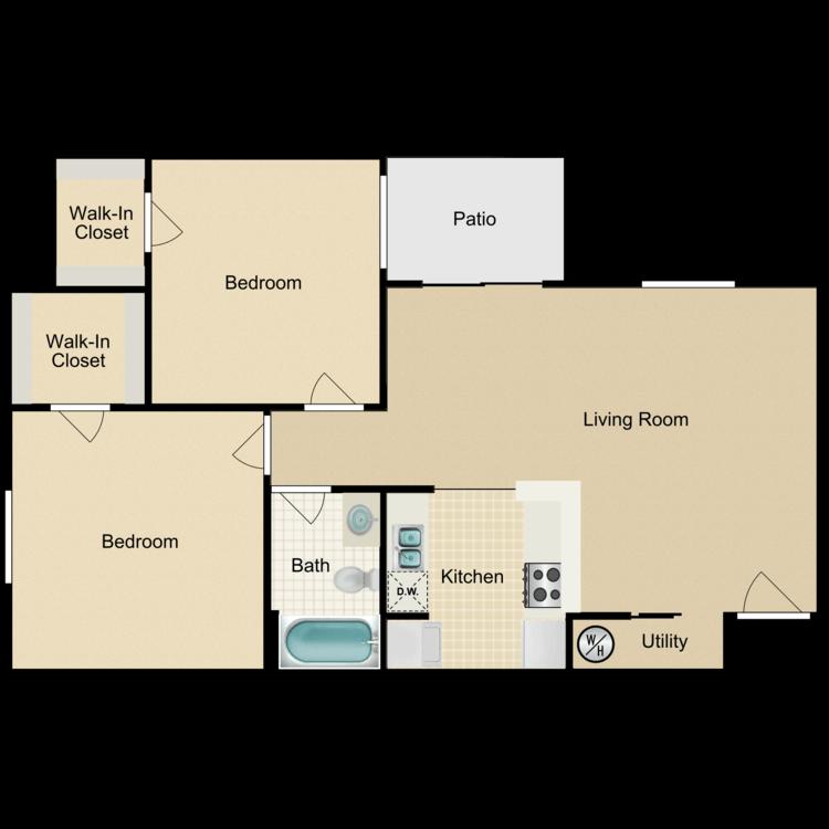 Floor plan image of Boston