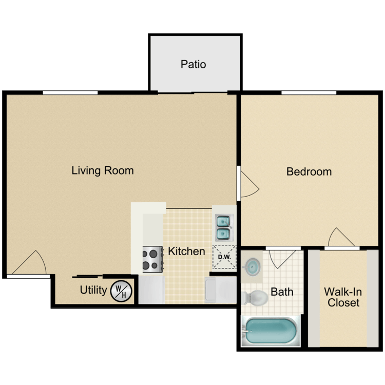 Floor plan image of Concord