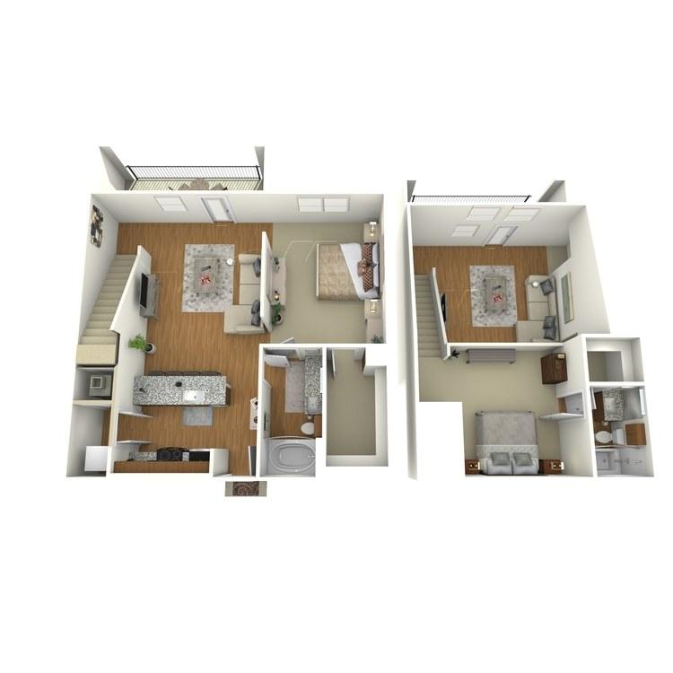 Floor plan image of B06L