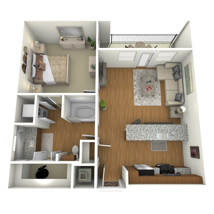 Floor plan image of A03