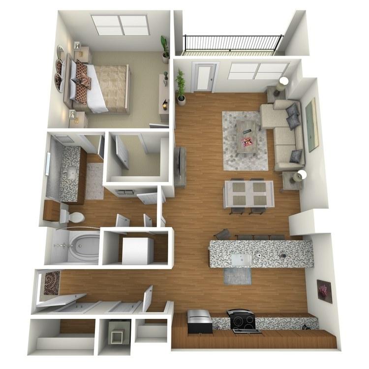 Floor plan image of A10