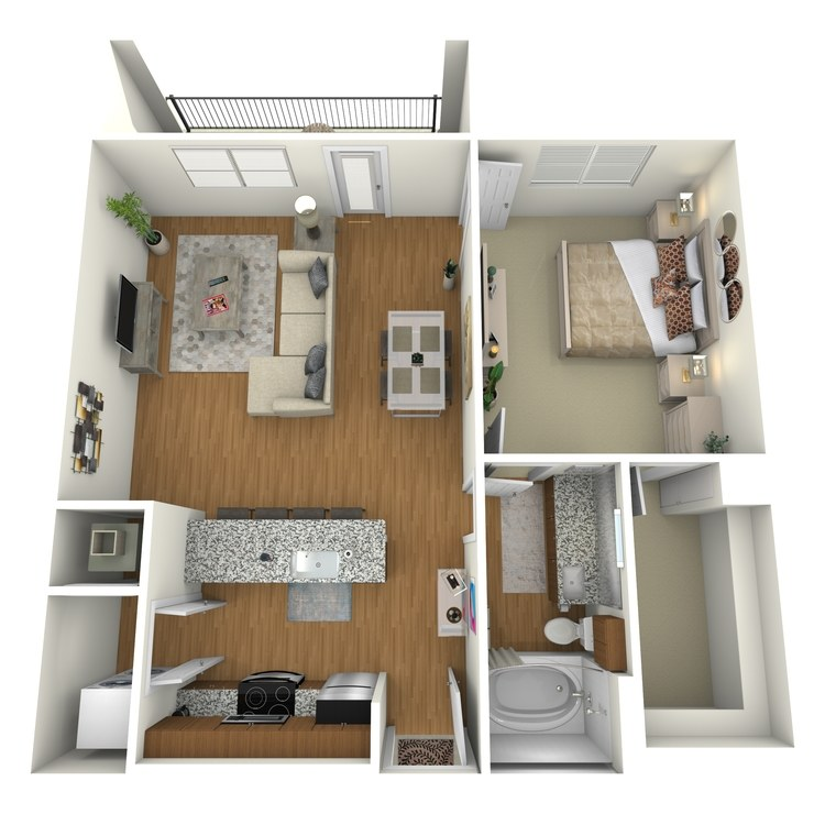 Floor plan image of A06