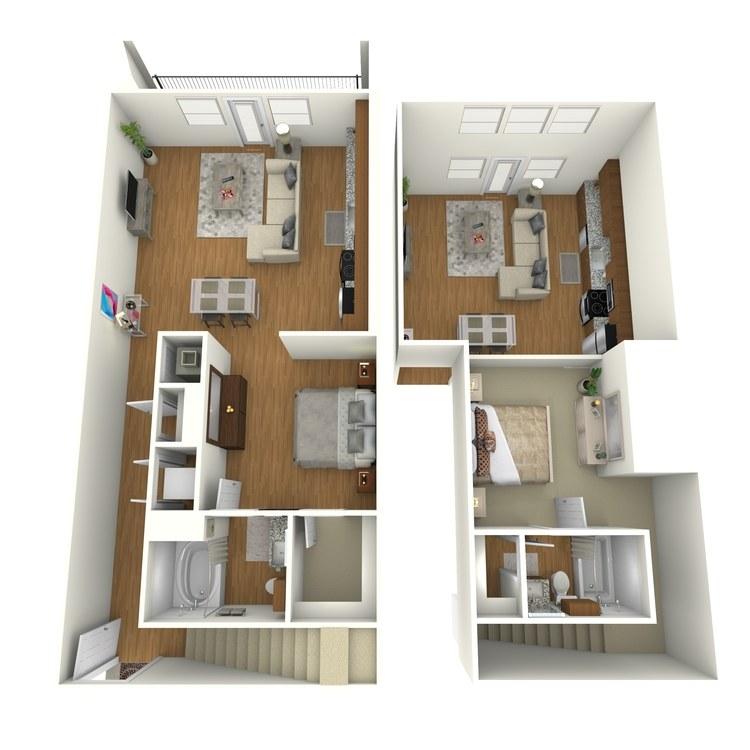 Floor plan image of B07L