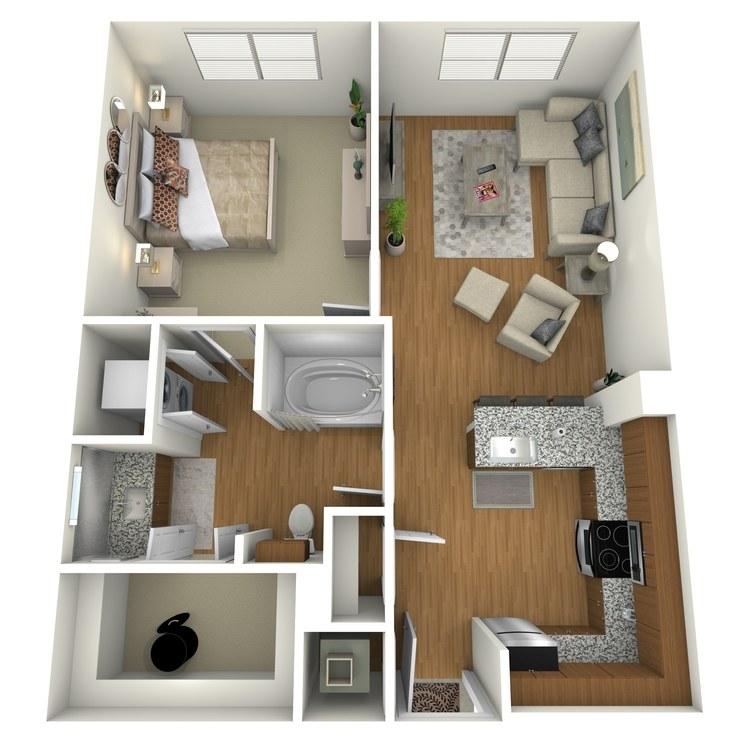 Floor plan image of A04