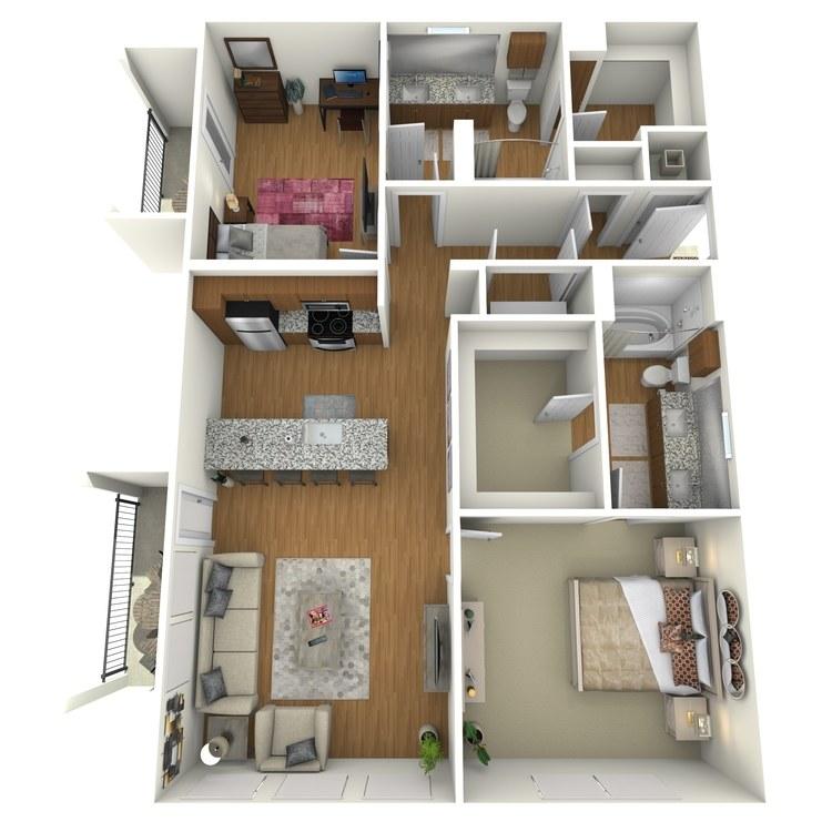 Floor plan image of B01