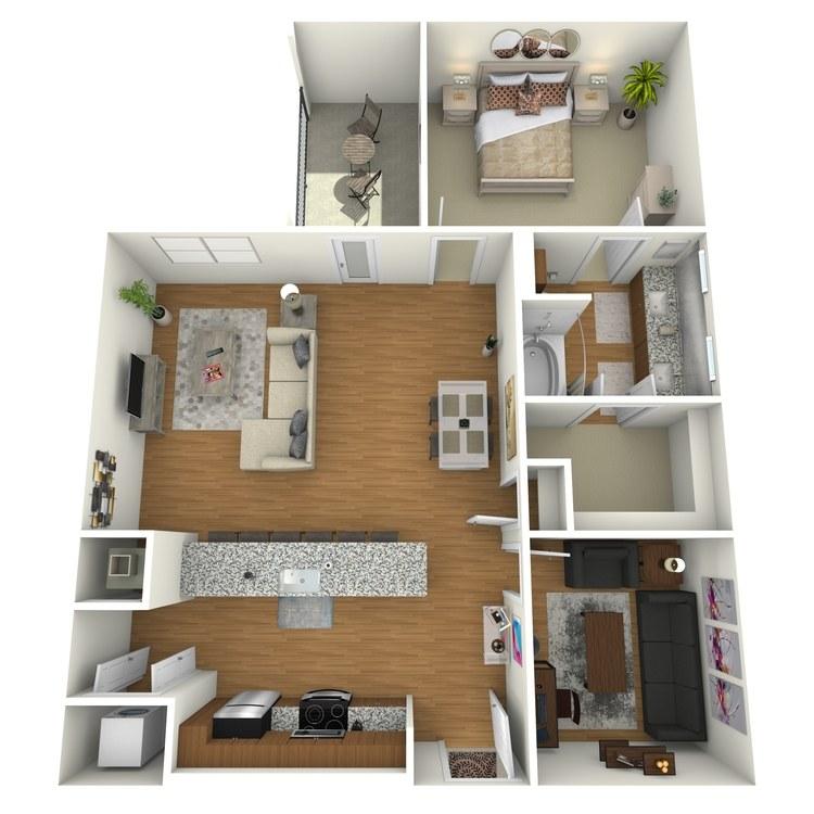 Floor plan image of A14s