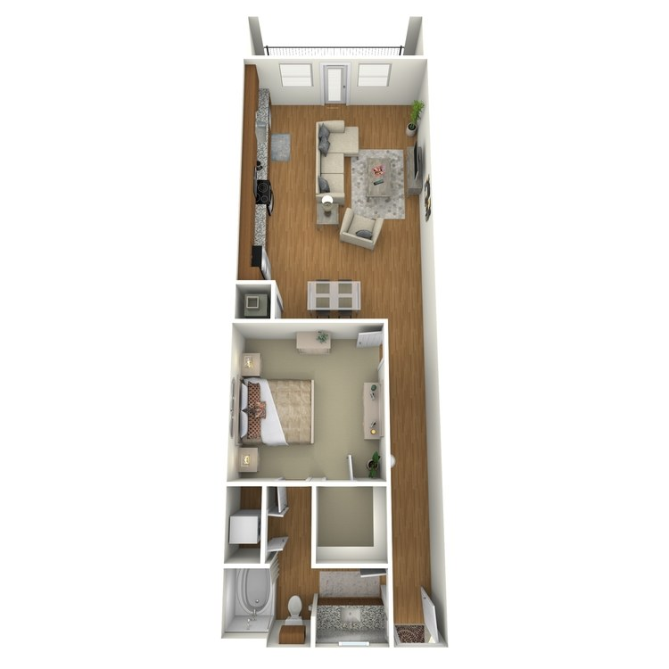 Floor plan image of A08