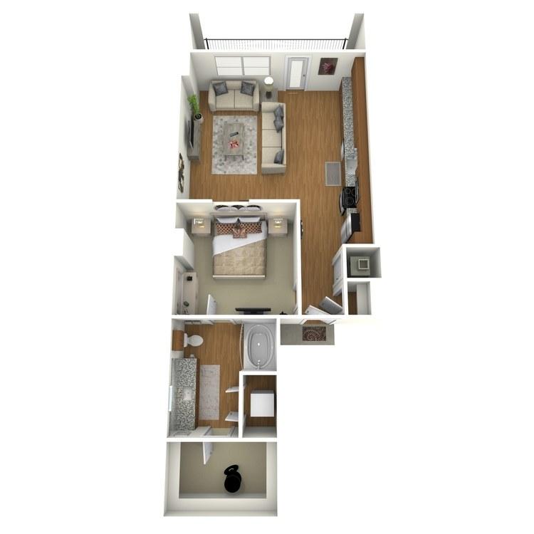 Floor plan image of A01