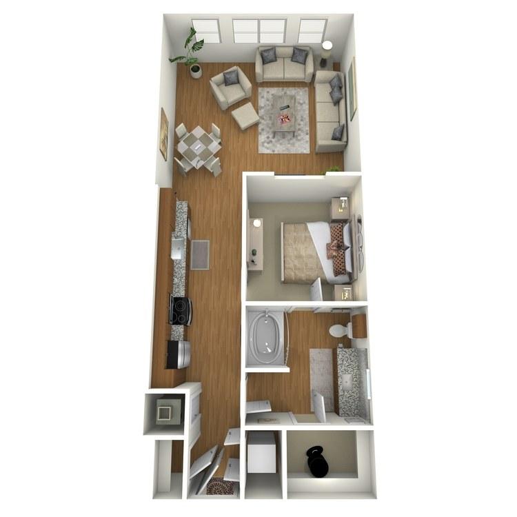 Floor plan image of A02