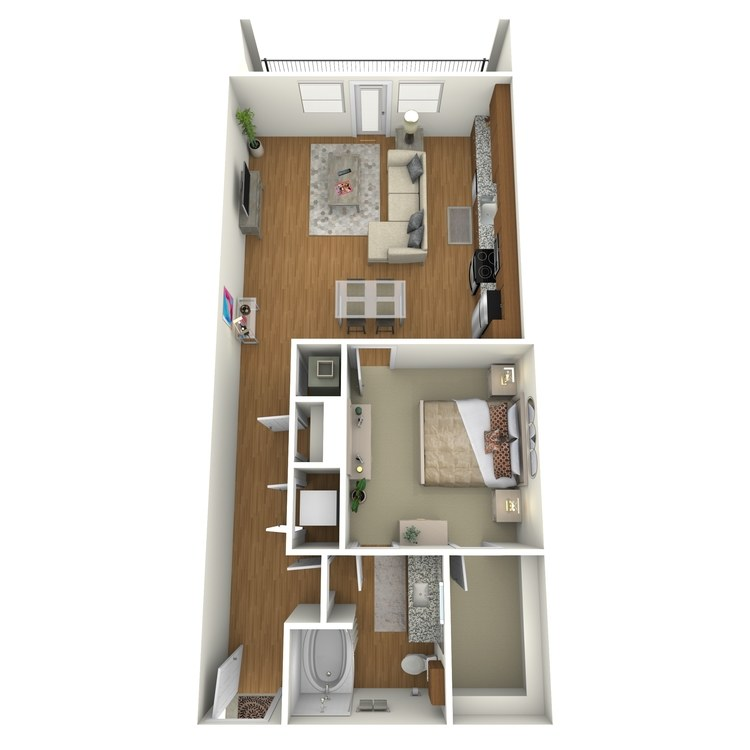 Floor plan image of A07