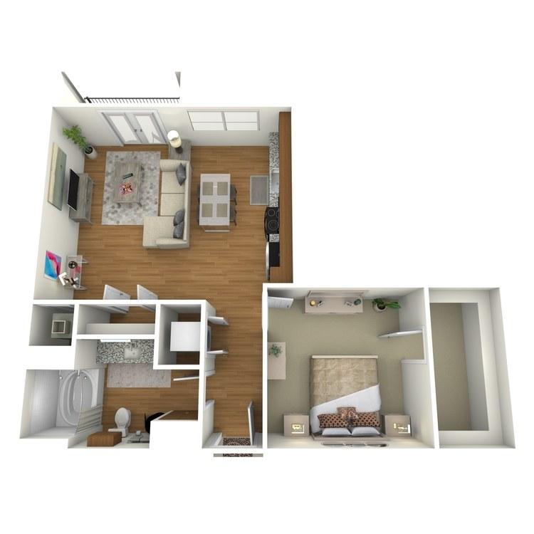 Floor plan image of A05