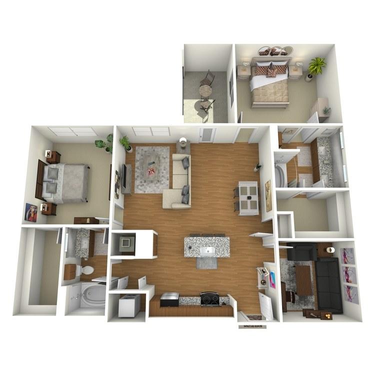 Floor plan image of B02s
