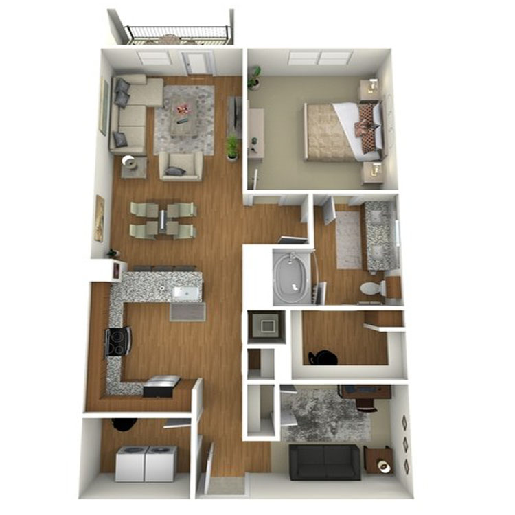 Floor plan image of A12s