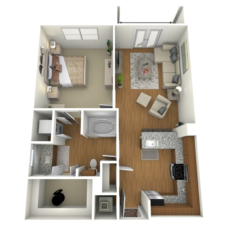 Floor plan image of A04a