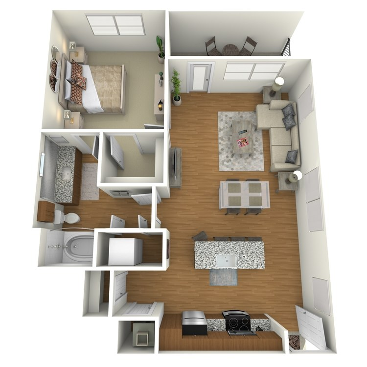 Floor plan image of A15a