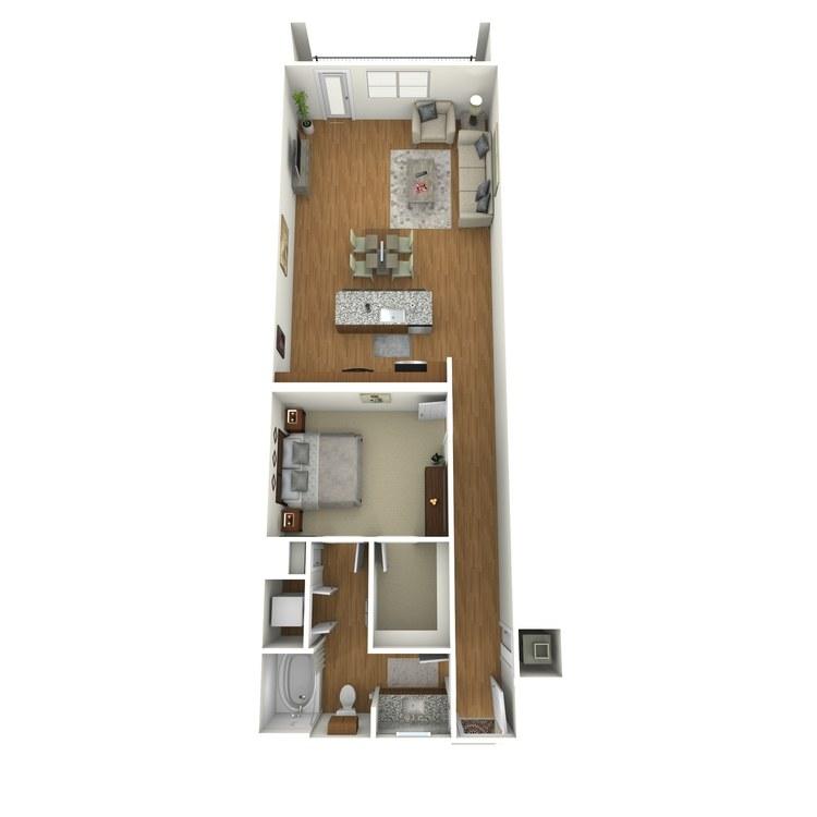 Floor plan image of A11s