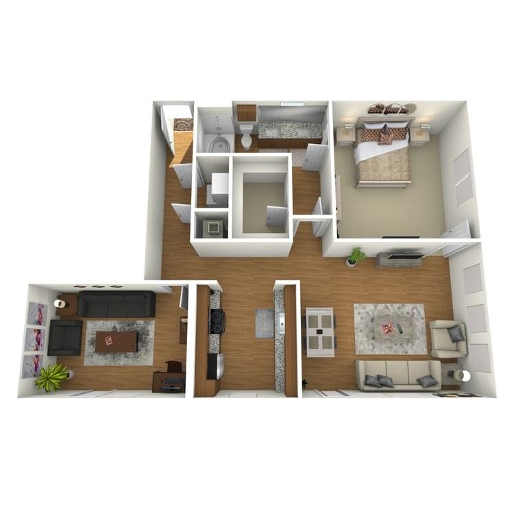Floor plan image of A15s
