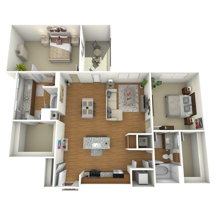Floor plan image of B03