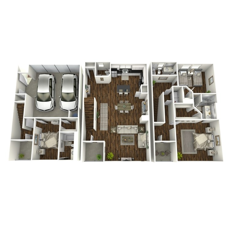 Floor plan image of TH-2