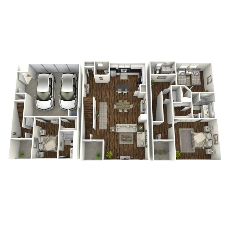 Floor plan image of TH-1
