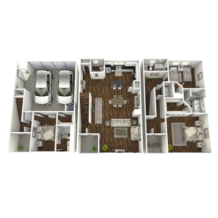 Floor plan image of TH-3