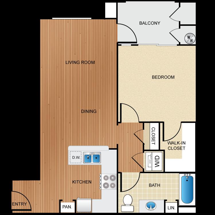 The Magnolia floor plan image