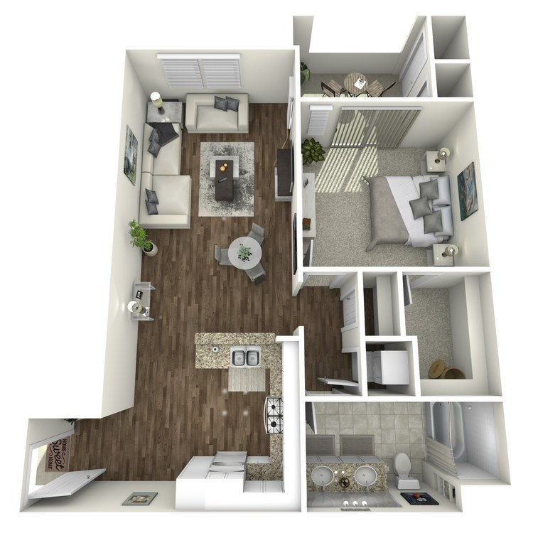 Floor plan image of The Magnolia