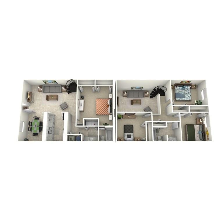 Floor plan image of The 1600