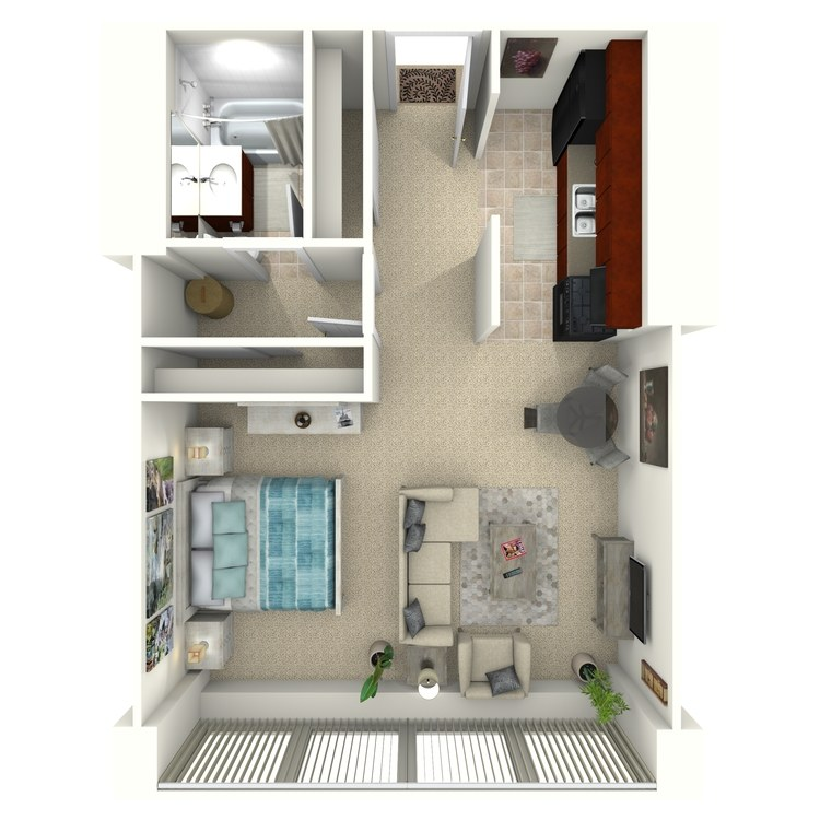 Floor plan image of S3