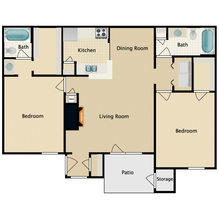 Floor plan image of Plan C