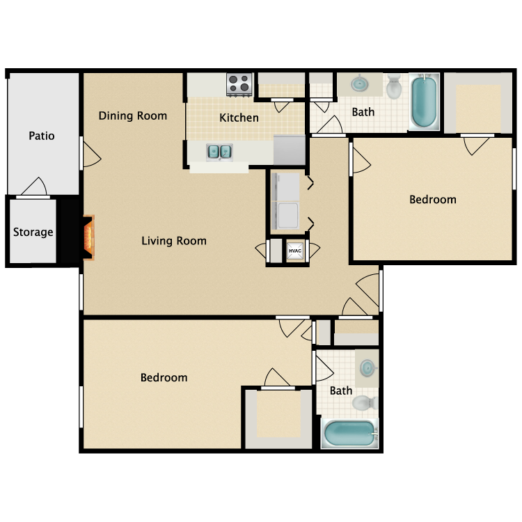 Floor plan image of Plan D