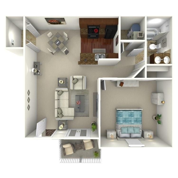Floor plan image of The York