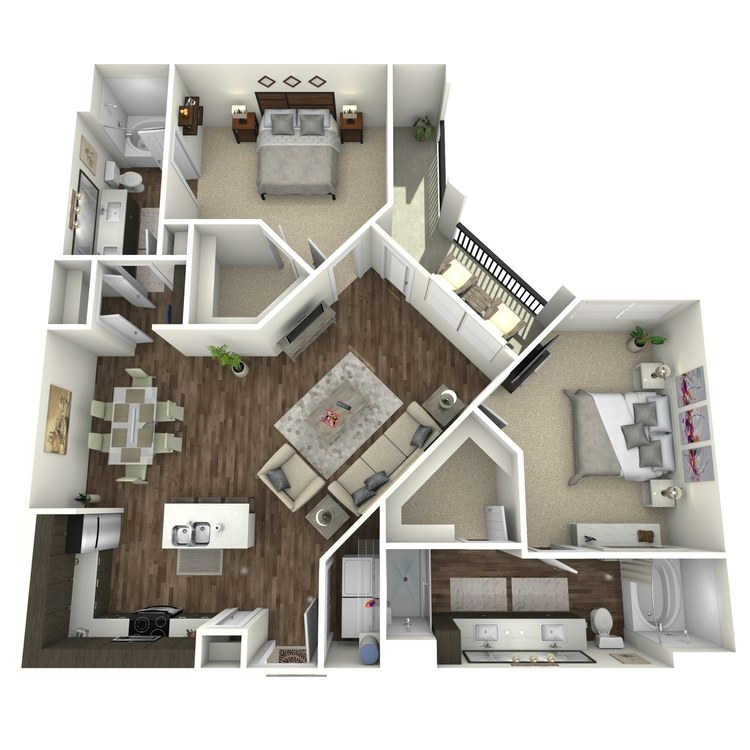 Floor plan image of B2B