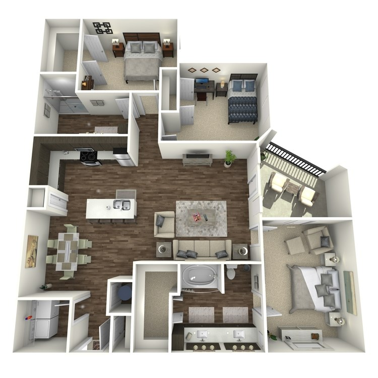 Floor plan image of CB