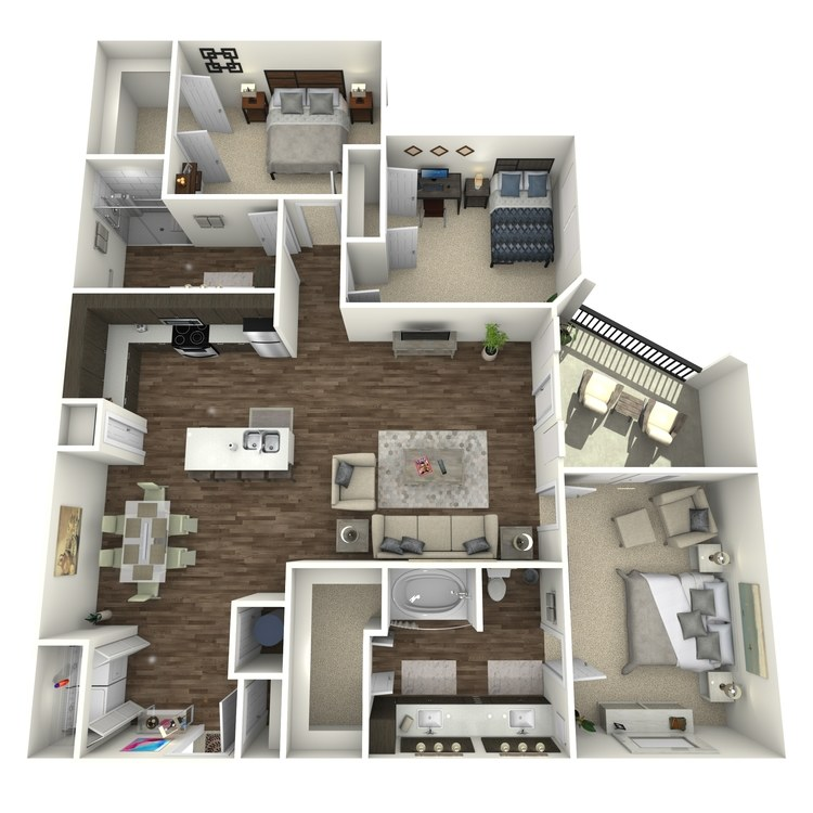 Floor plan image of C1H
