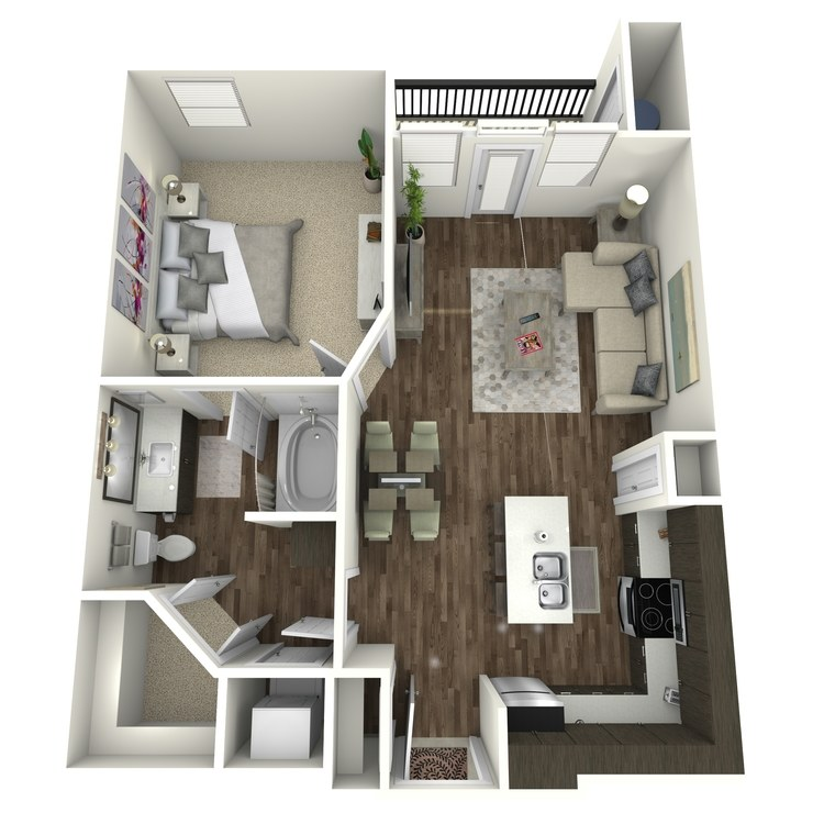 Floor plan image of A2B