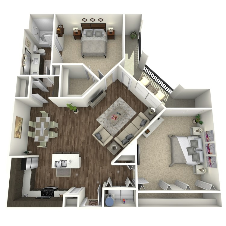 Floor plan image of Revel