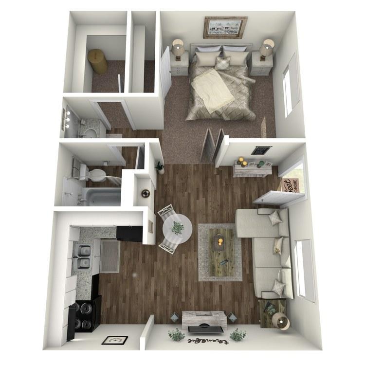 Floor plan image of A1 Studio