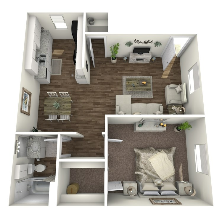 Floor plan image of A2 1 X1