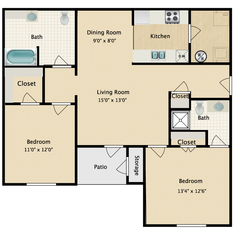 Floor plan image of The Arbor