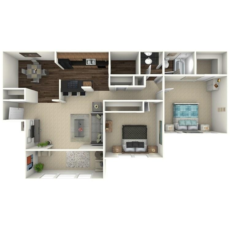 Floor plan image of The Oconee