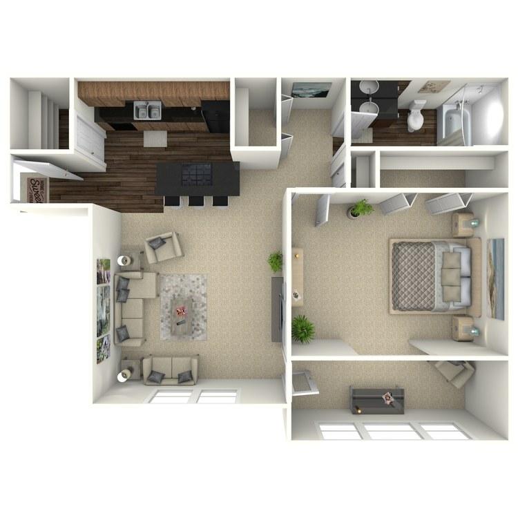 Floor plan image of The Allatoona